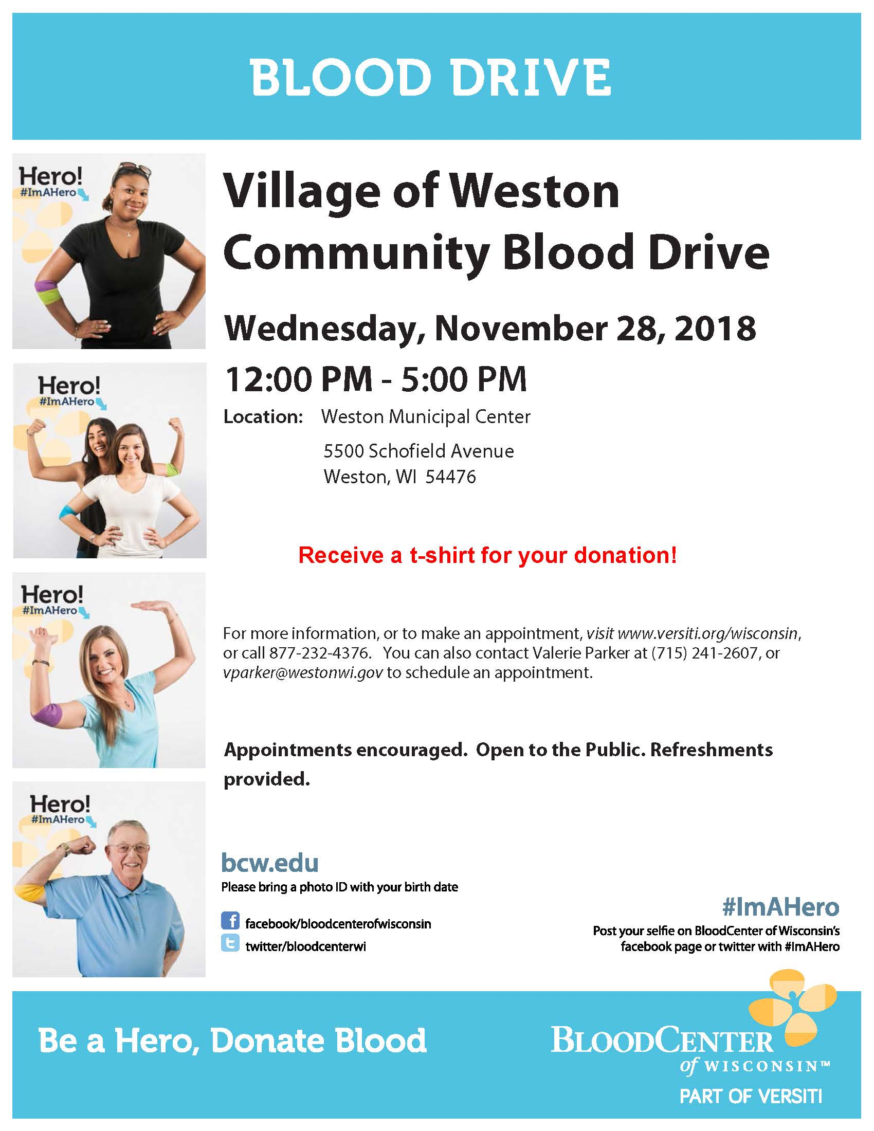 181128 Blood Drive Flyer