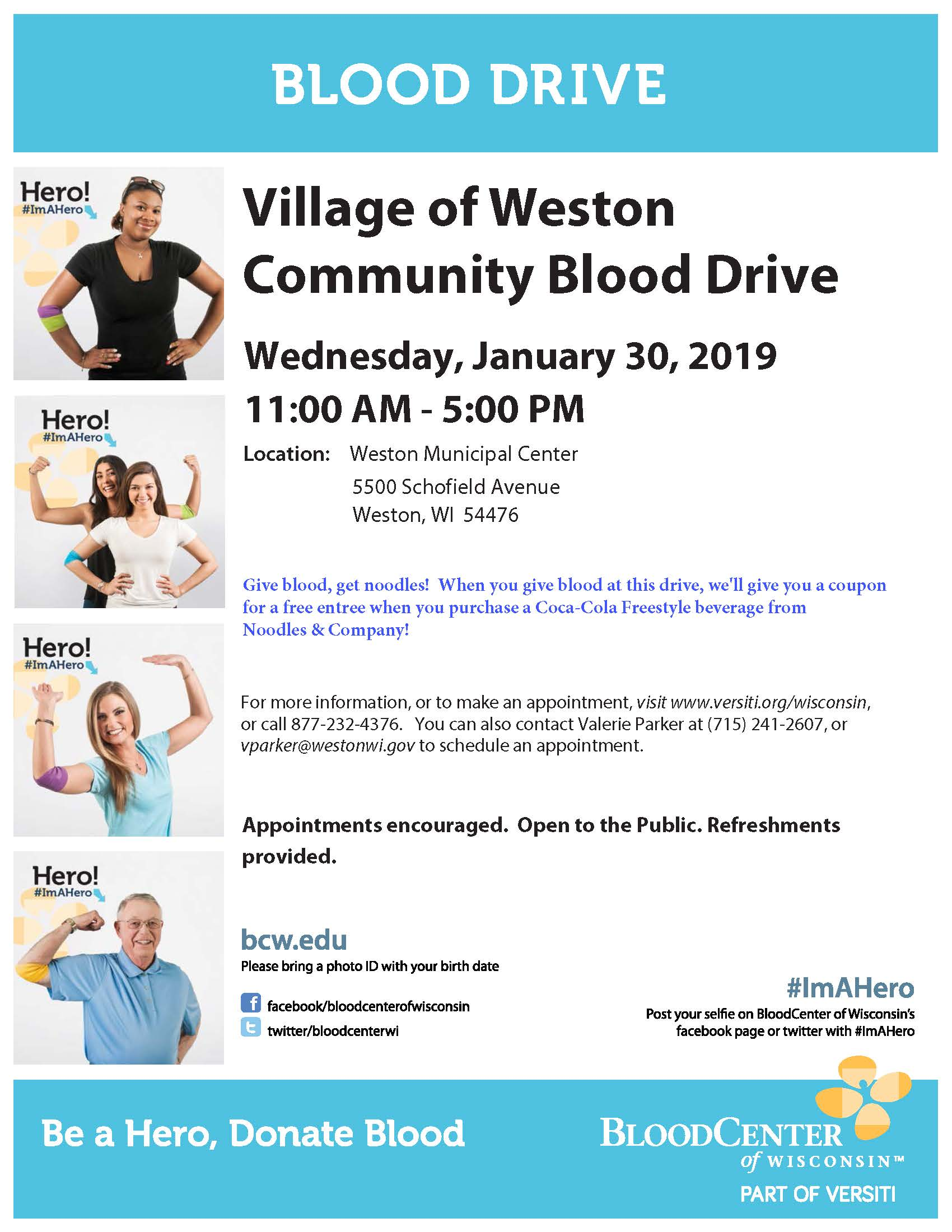 190130 Blood Drive Flyer