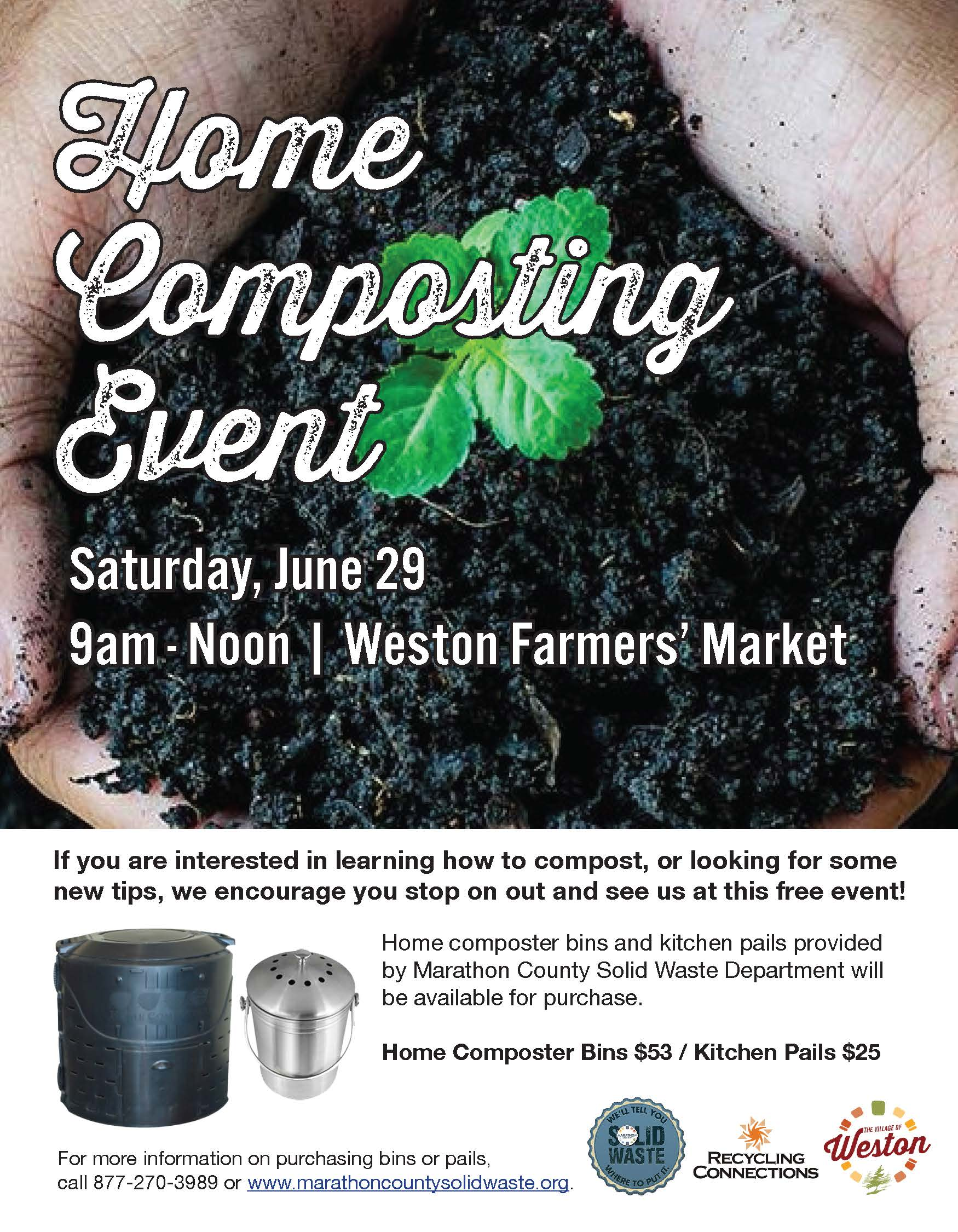 Home Composting Event Flyer - 2019