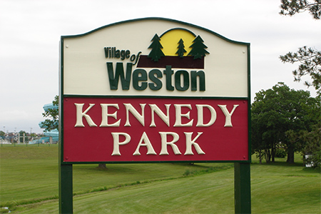 Kennedy Park Sign new
