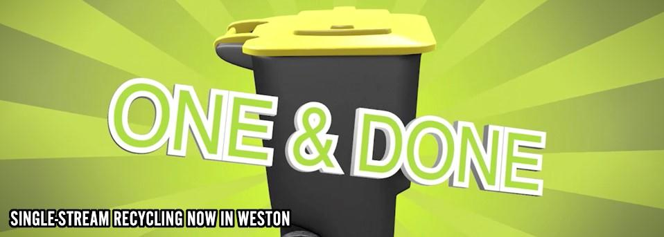 Find out more about the new Single Stream Recycling Service