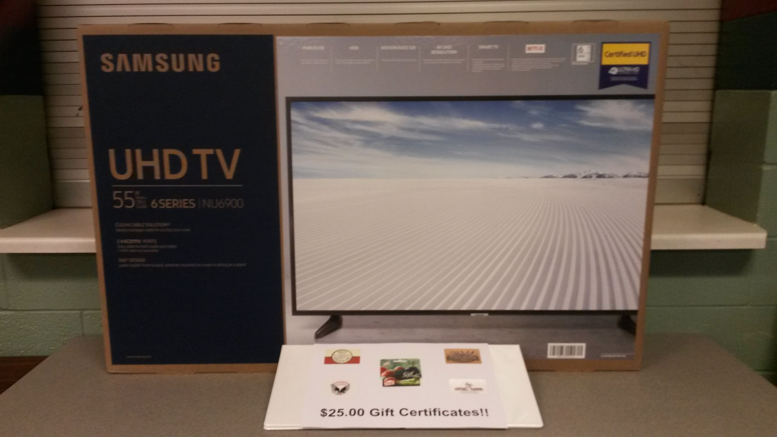 TV - Gift Cards