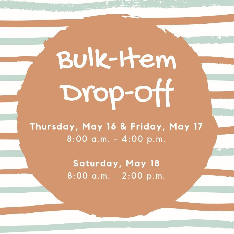 Bulk-Item Drop-Off 2019
