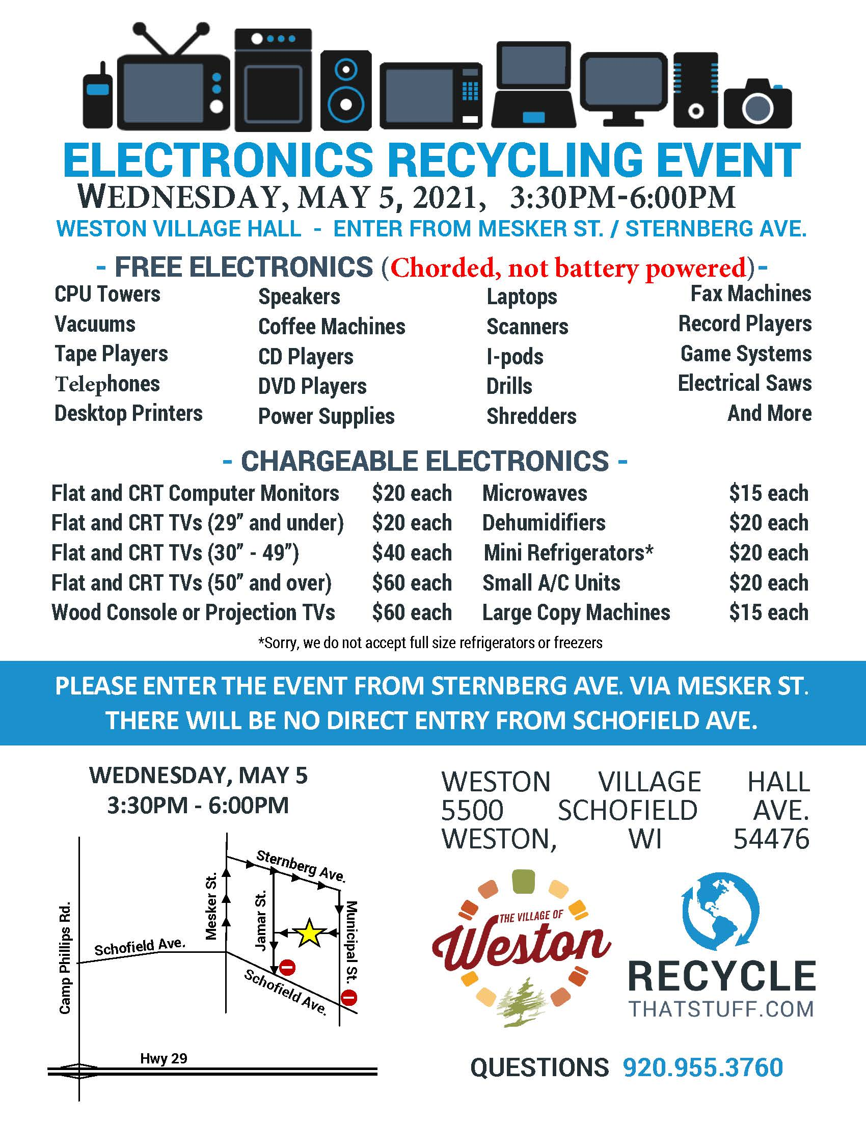 Weston - Electronics Flyer - Spring 2021 - Newsletter