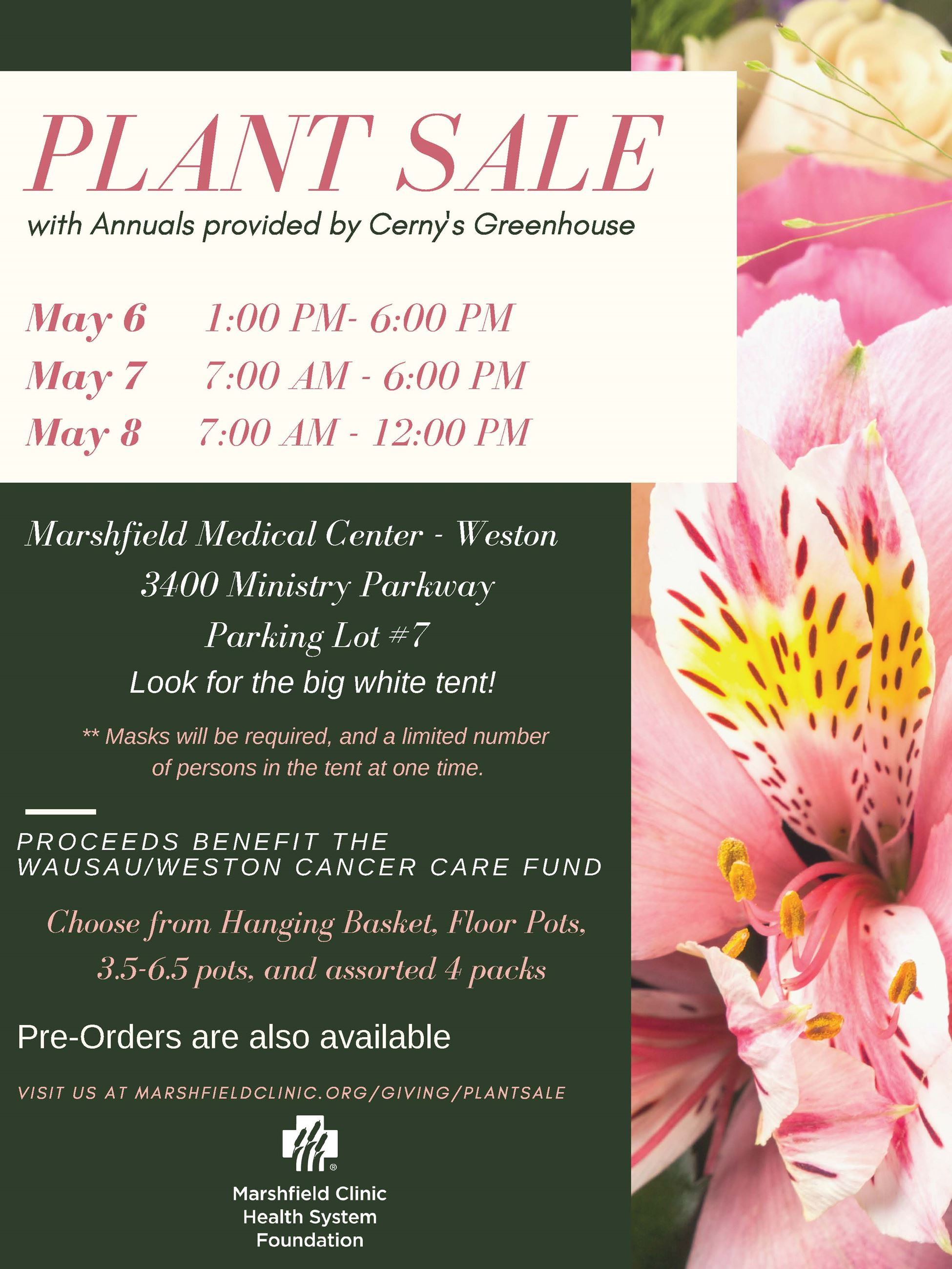MMC Plant Sale Flyer
