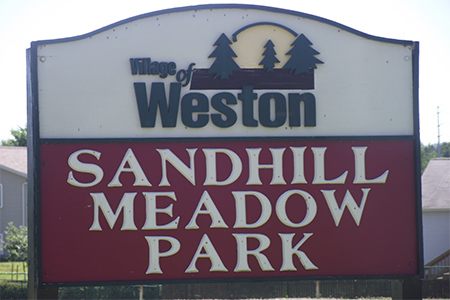 Sandhill Meadow Sign